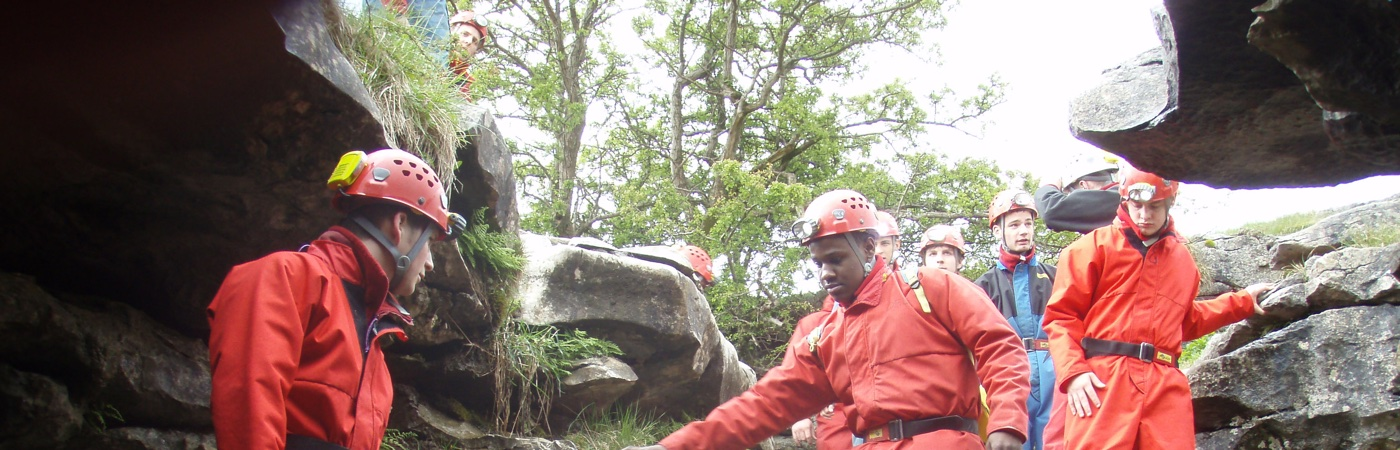 Cave leader training