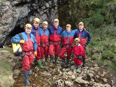 Caving in North Wales