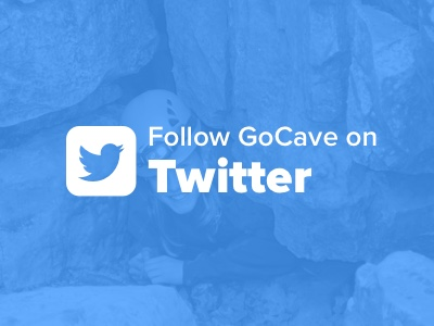 follow gocave on twitter