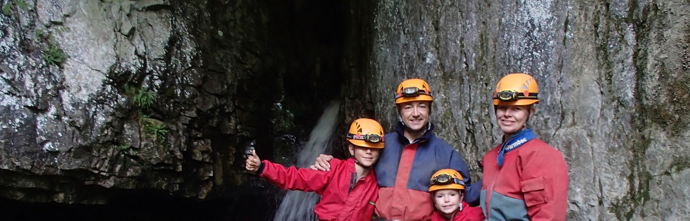 Family caving trips