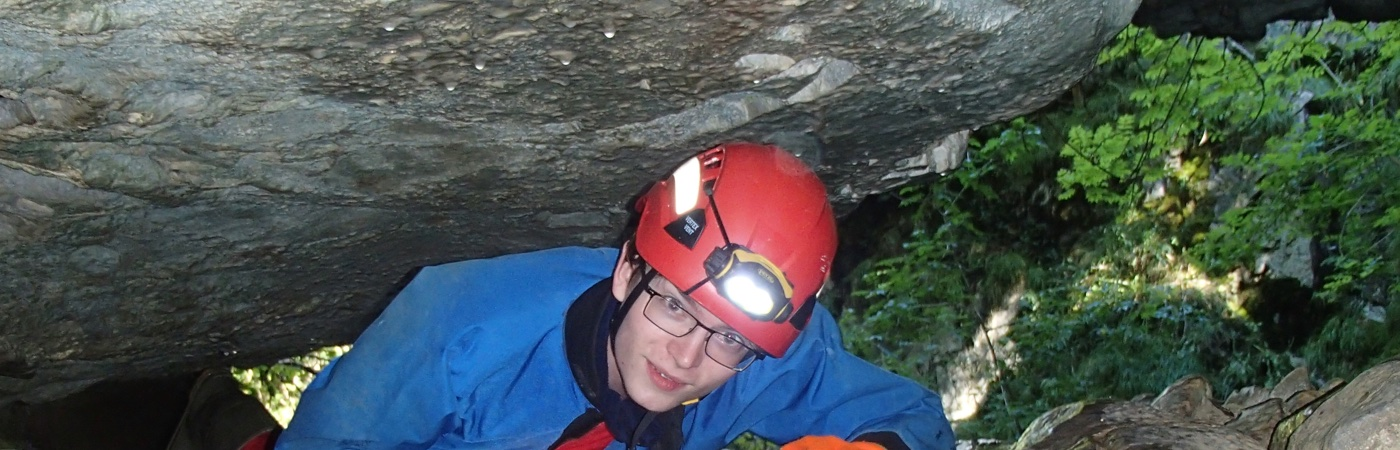 Peak District Caving