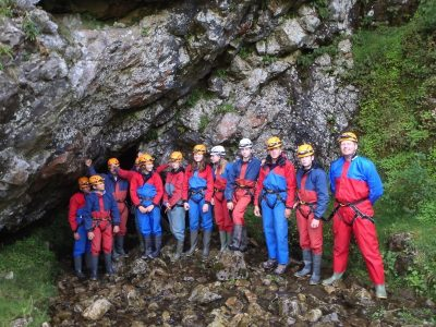 Caving and mine exploration for schools and educational groups