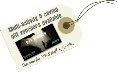 Multi activity gift vouchers